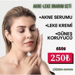 Çiğdem Akman Akne ve Leke Serisi 3'lü Set